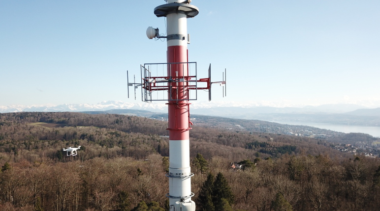 drone harmony cell tower inspection