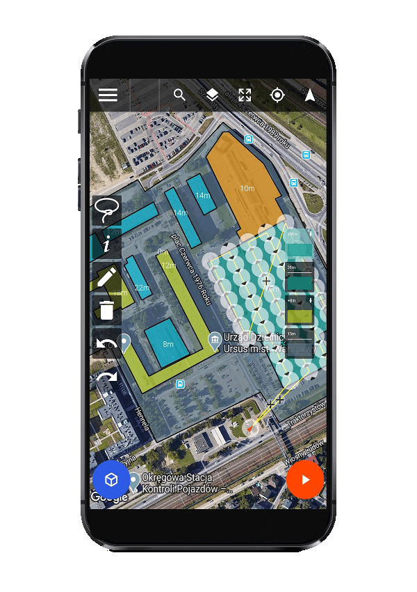 drone harmony dji flight planner mobile app